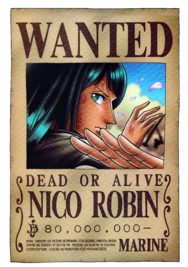 Crunchyroll Library One Piece Wanted Posters