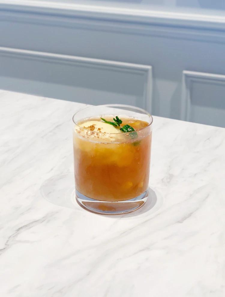 Cóctel de té Kray