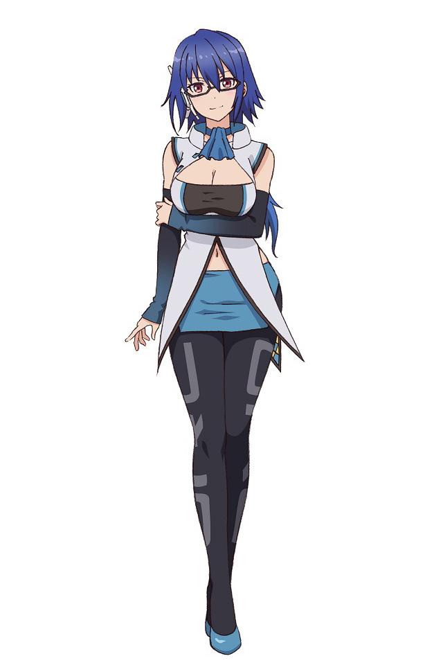 A character setting of Kyouko Usui, aka