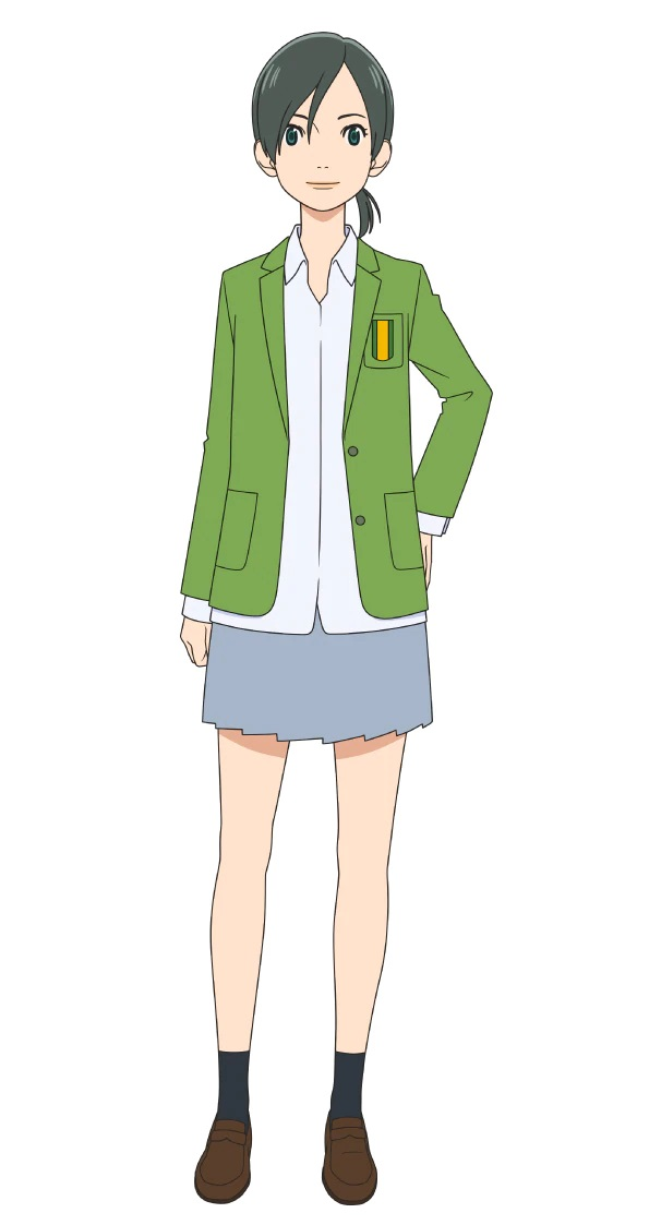A character setting of Karina Kakogawa, a member of the high school soccer club from the upcoming Farewell, My Dear Cramer TV anime.
