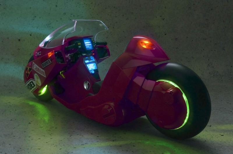 La bicicleta de Kaneda (iluminada)