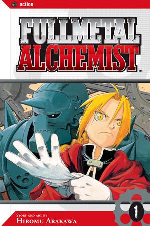 Ed and Al in Fullmetal Alchemist