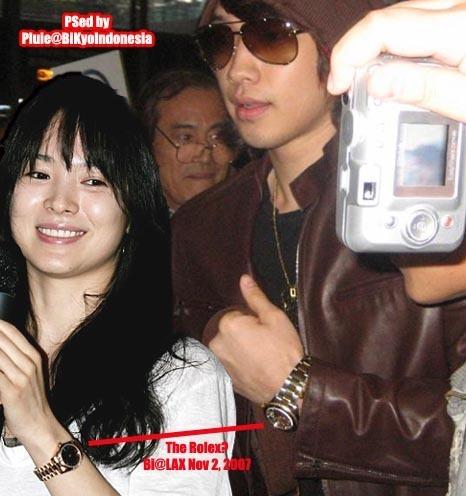 Did rain and song hye kyo dating