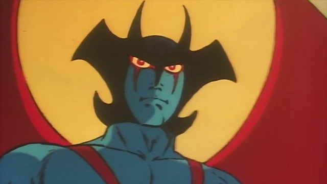 The anime Devilman is still demonic, but pitched to a younger audience