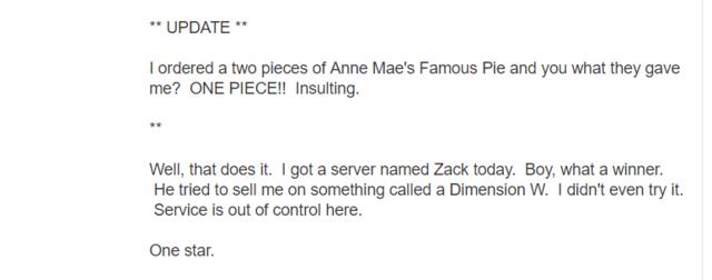 Chris Sabat One Piece Yelp Review