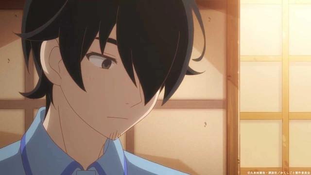 A close-up of Kakushi Gotou, the male protagonist of the upcoming Kakushigoto TV anime.