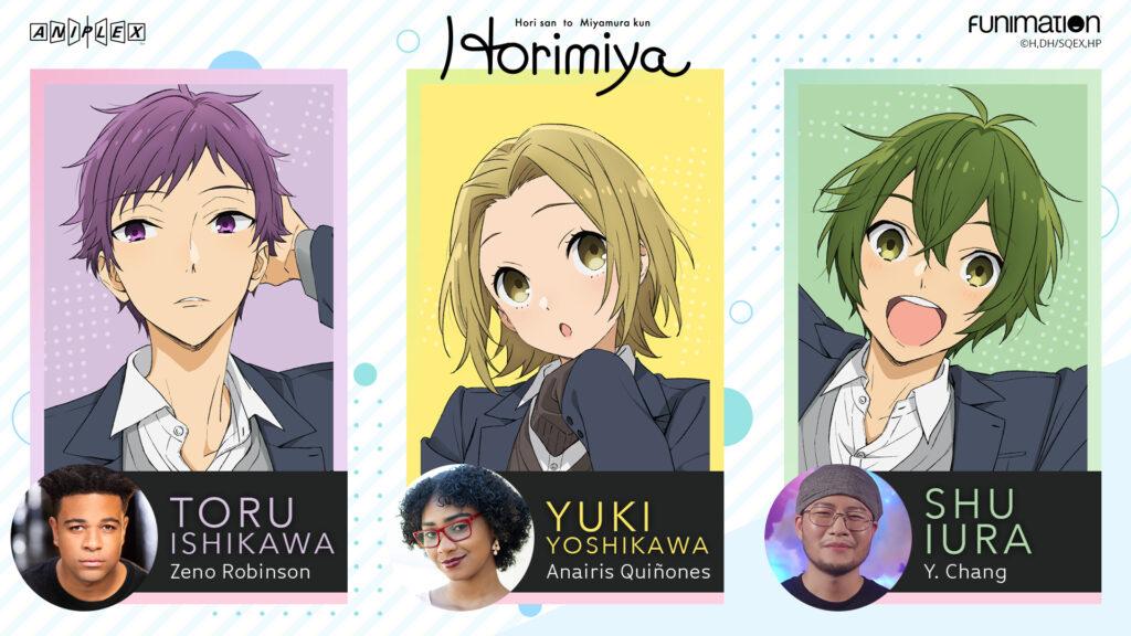 Horimiya dub cast 2