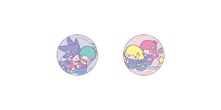 Botón de pinback Promare x Little Twin Stars