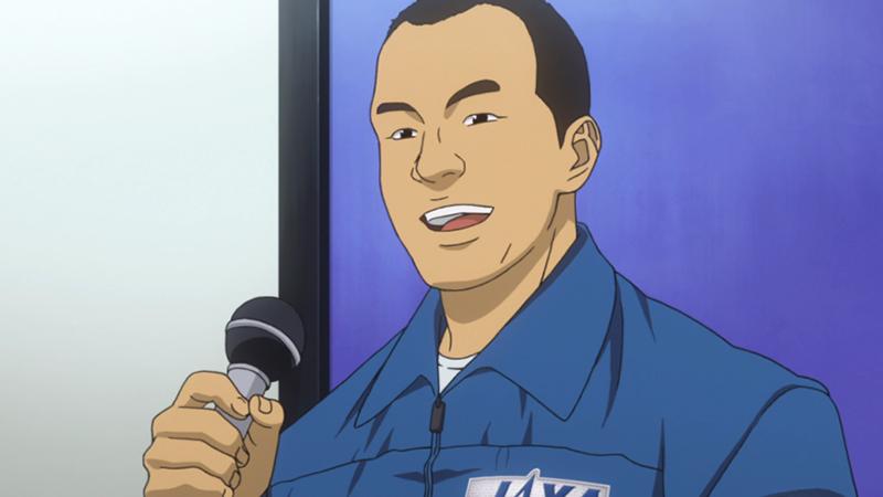 Soichi Noguchi in Space Brothers