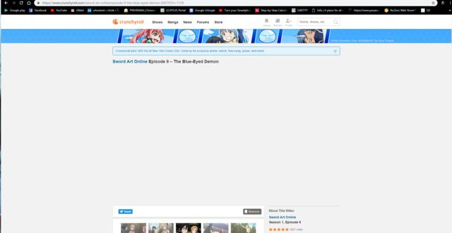 Crunchyroll - Forum - Videos not showing up