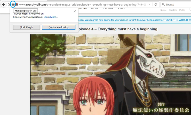 Crunchyroll - Forum - Flash player is completely empty