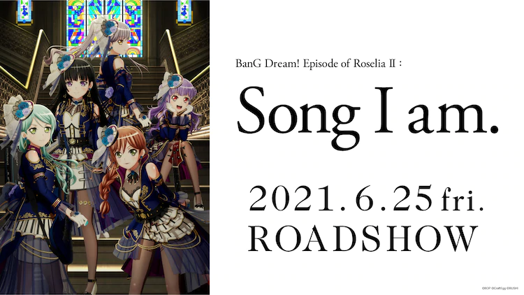 BanG Dream!  Episodio de Roselia II: Canción que soy.