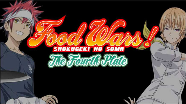 Food Wars Fourth Plate