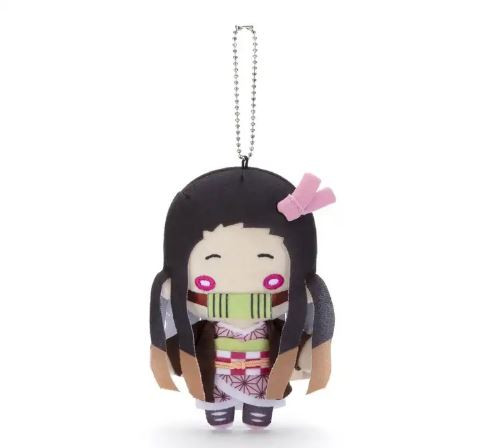Nezuko de Demon Slayer: Kimetsu no Yaiba em forma de brinquedo Nitotan.