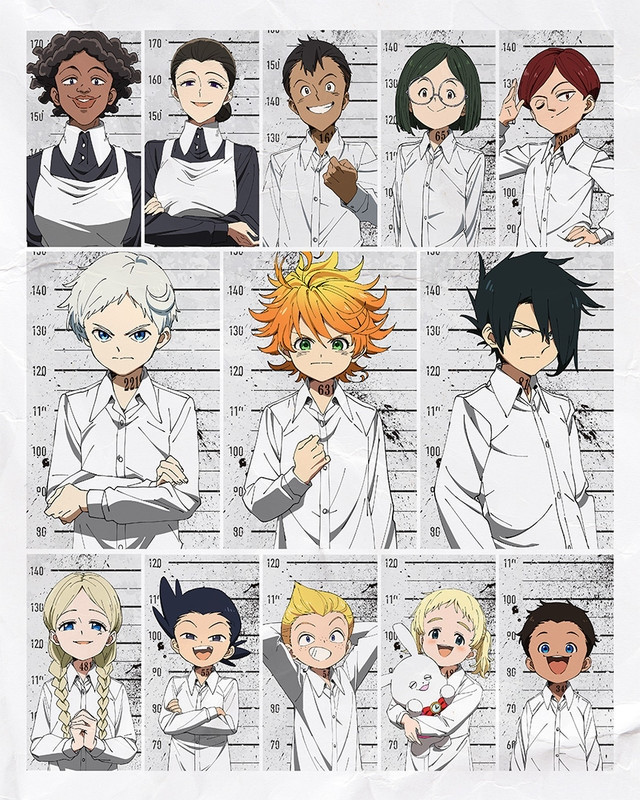 TV Anime The Promised Neverland Announces