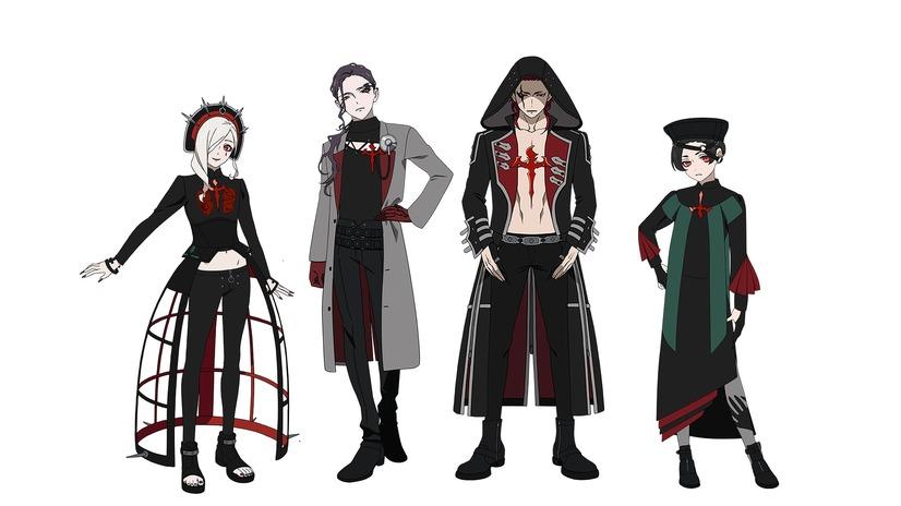 LOS†EDEN - Stage costumes