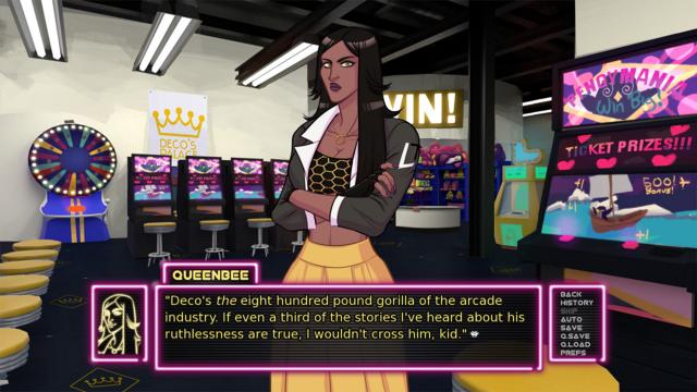 QueenBee in Arcade Spirits