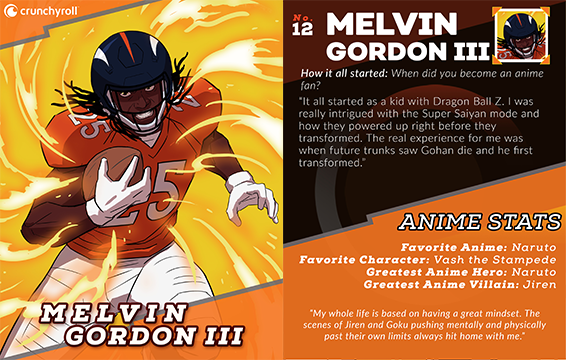 Melvin Gordon III Player Card