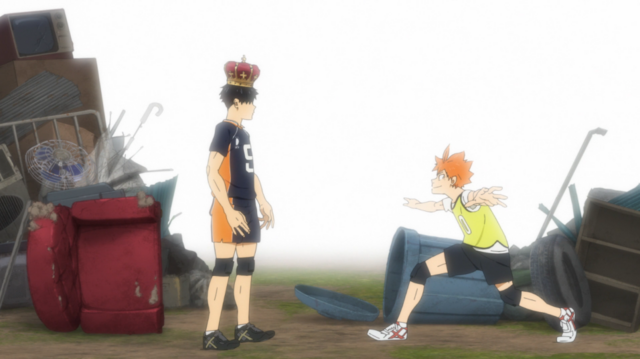 Kageyama crowned King.