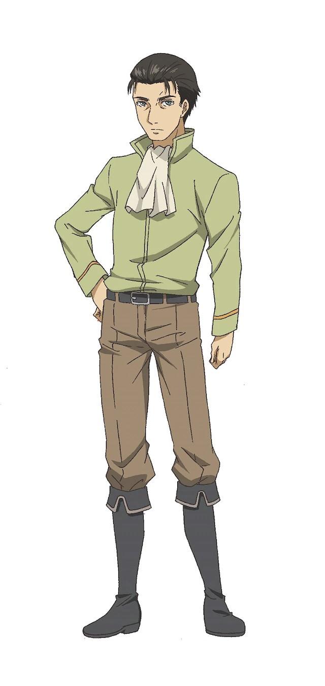 A character visual of Kurt, a knight from the upcoming Hachinan-tte, Sore wa Nai Deshou! TV anime.
