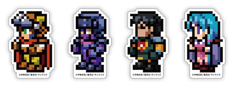Ryu Knight: Stickers