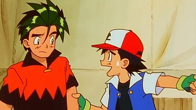 AJ y Ash Ketchum en Pokémon