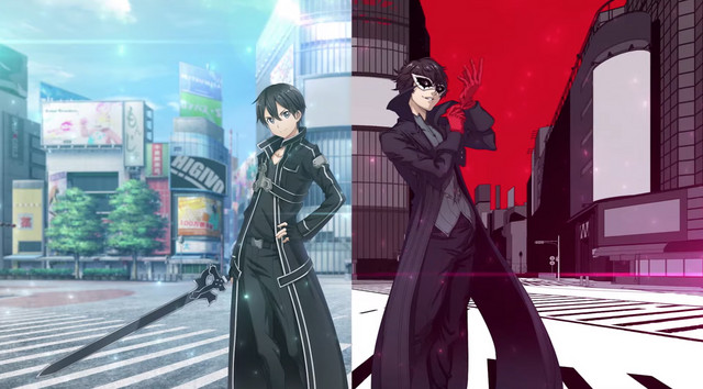 Sword Art Online x Persona 5