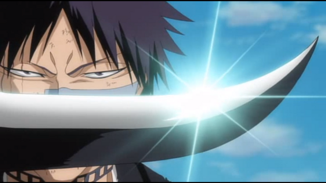 Bleach, Shuhei vs. Findorr