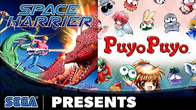 Arcade Classics: Space Harrier and Puyo Puyo