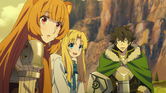 The Rising of the Shield Hero, Raphtalia, Filo, Naofumi
