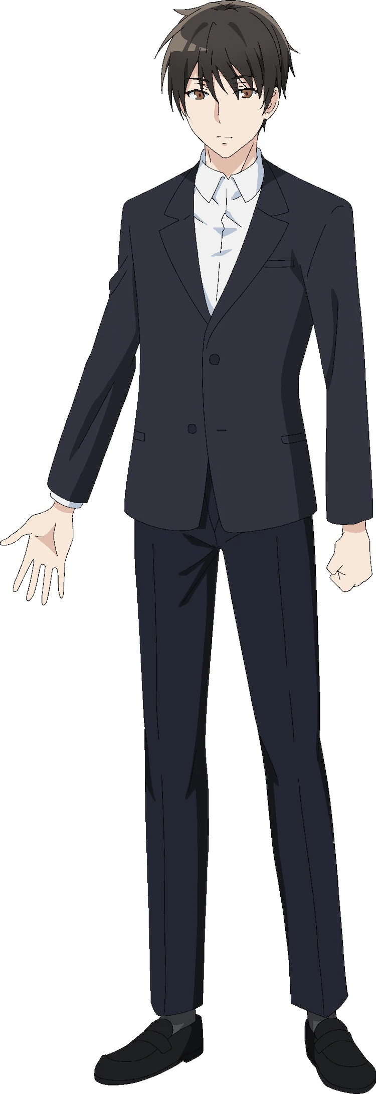 A character setting of Kimihiko Kimitsuka, the protagonist from the upcoming Tantei wa Mou, Shindeiru. TV anime.