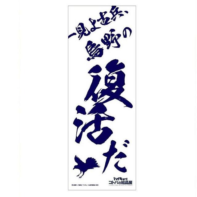 Haikyu! TO THE TOP Exhibition goods