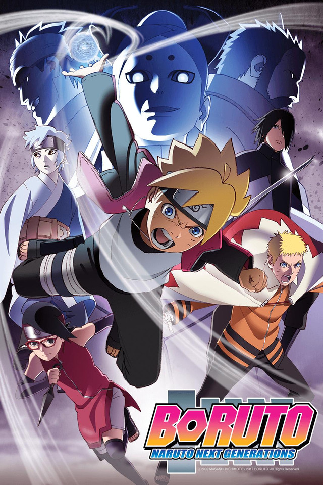 Boruto Naruto Next Generations Watch On Crunchyroll