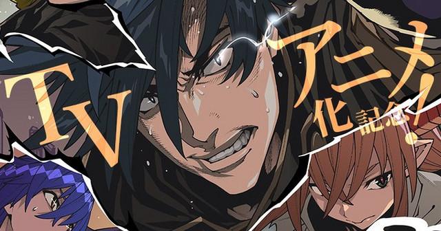 Una imagen teaser que anuncia el próximo anime televisivo de The Dungeon of Black Company, con una vista de cerca de las muecas de tres de los personajes principales.