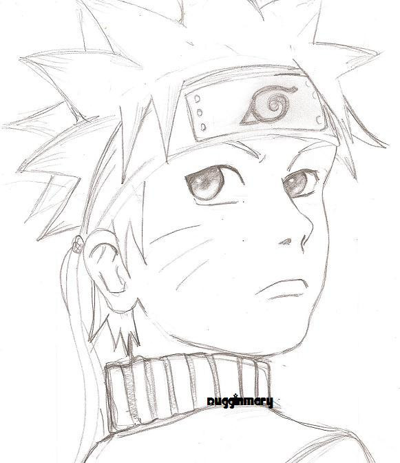 First Try At Anime Drawing