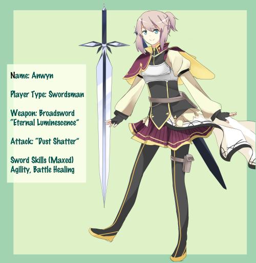 Crunchyroll - Forum - Design your own Sword Art Online avatar