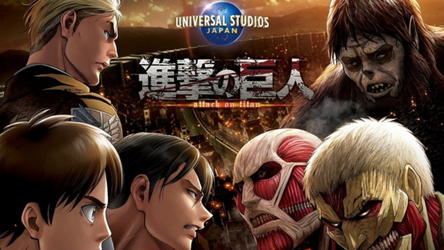 Crunchyroll - Theme Park Attraction Takes You into Upcoming