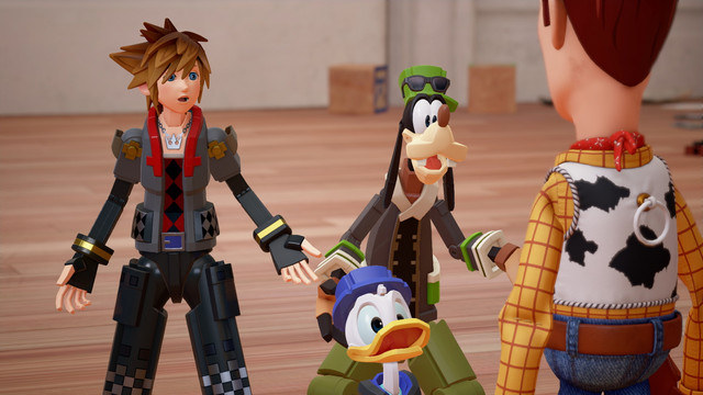 Kingdom Hearts III TGS 2018 Toy Story and Frozen worlds gameplay