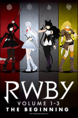 RWBY VOLUME 1-3: The Beginning (Japanese Dub)