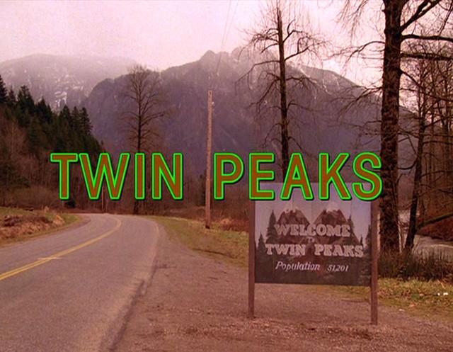 Twin Peaks Title Card