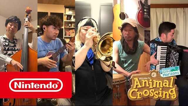 Músicos de Animal Crossing: New Horizons
