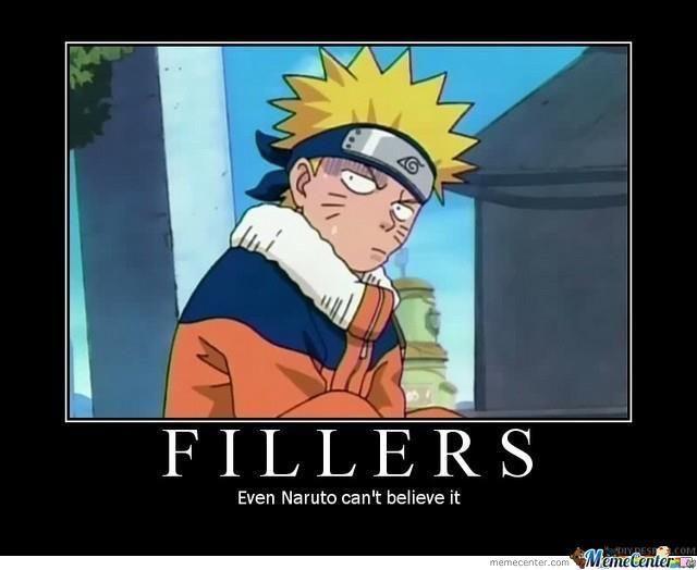 Naruto Shippuuden Filler Folgen