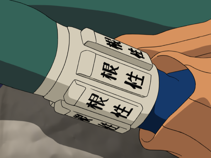 Rock Lee Drops the Weights