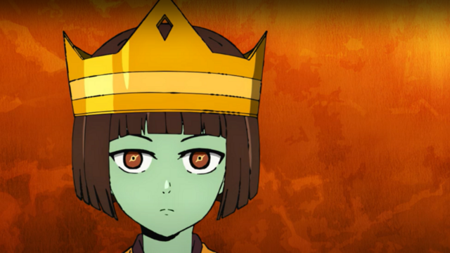 Anak wears the crown in Tower of God