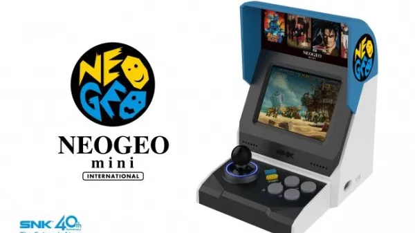 SNK Reveals Neo Geo Mini Console With 40 Games