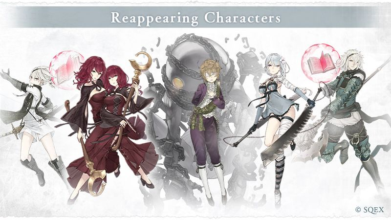 Returning Nier Replicant characters