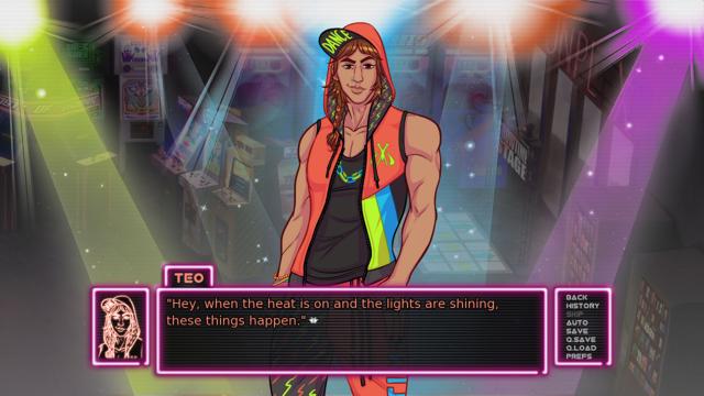 Teo in Arcade Spirits