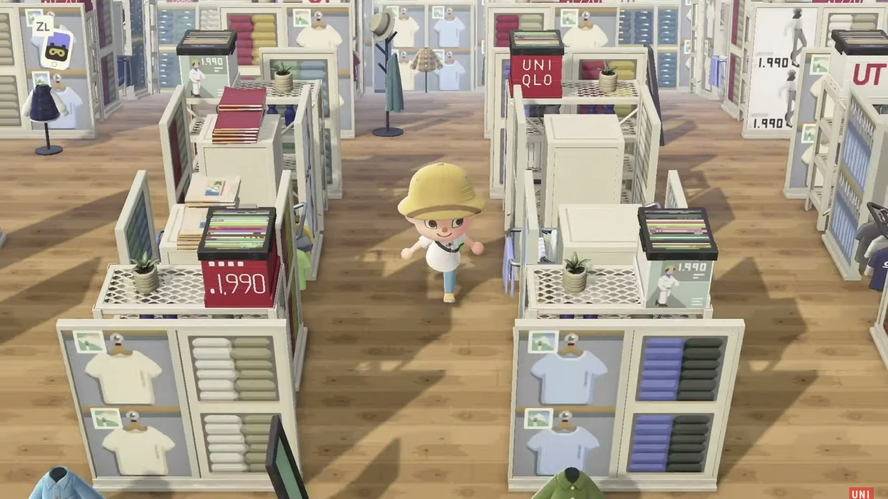 Animal Crossing: New Horizons x UT at UNQLO