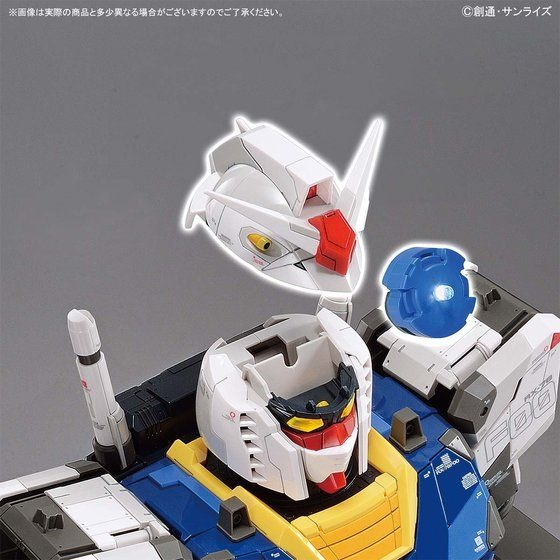 Gundam RX-78F00 Bust - LED placement