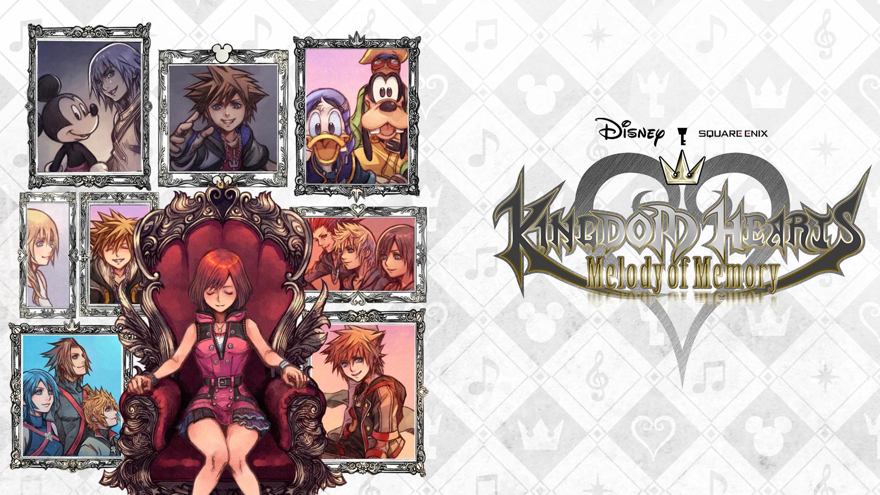 Kingdom Hearts: Melody of Memory artwork